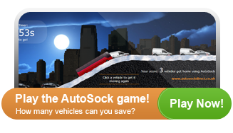 Play the AutoSock game. How many drivers can you rescue in 60 seconds?!