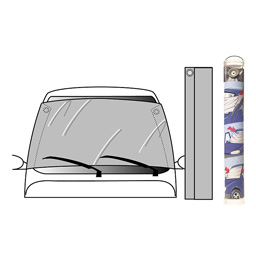 Windscreen protector for ice, snow & sun (extra large)